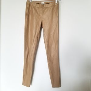 Wilfred Faux Leather Legging Pants